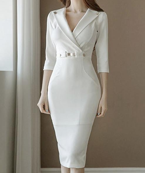 결혼식 피로연 원피스 2부행사를 진행할 때에도 예쁘게 입어보세요